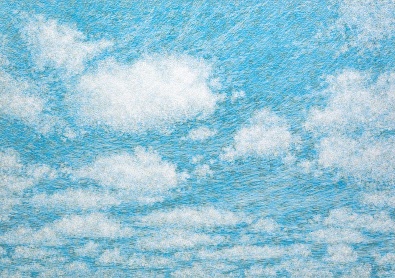 공기와꿈 80.3x116.7cm 캔버스에 염색한지위에 한지 2015
