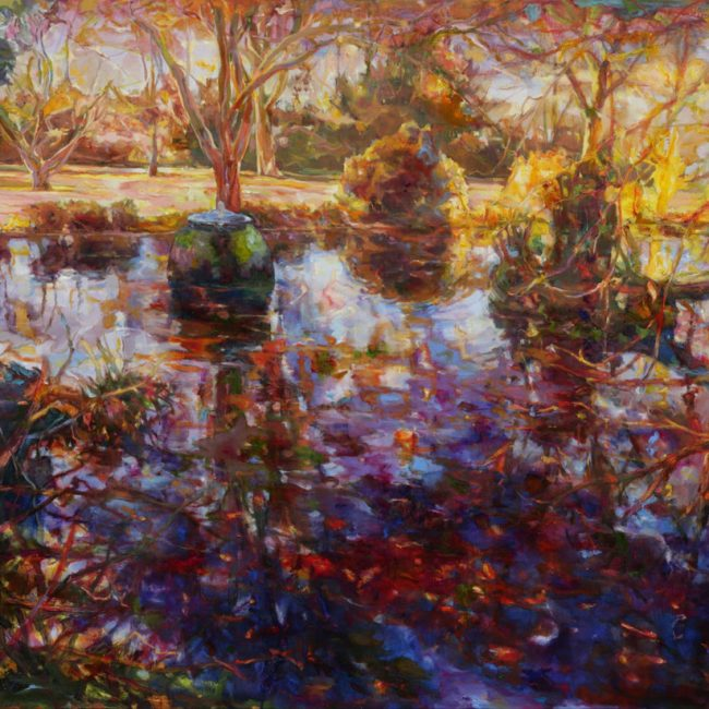 Botanical Garden oil on canvas 131x162cm 2014 900