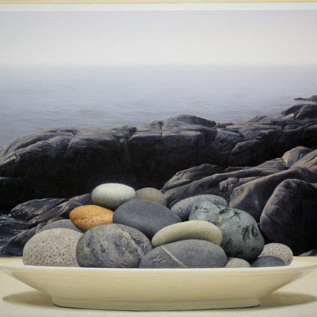 silence- 바다 20호p (oil on canvas)