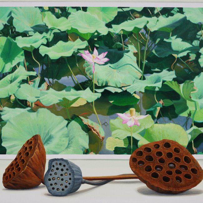 silence-수련 20호f(oil on canvas)