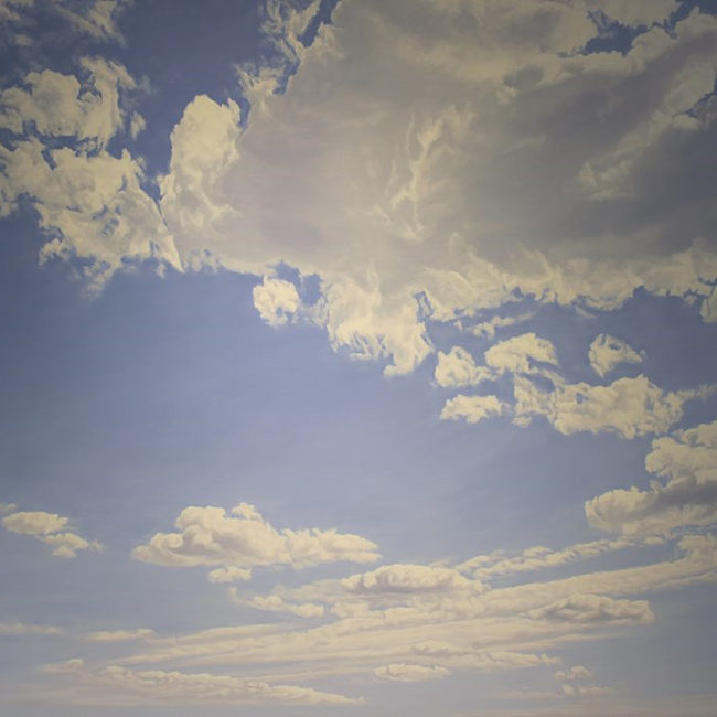 순수형태 - 생성 259x181.8 cm 캔버스 위에 유채 2008