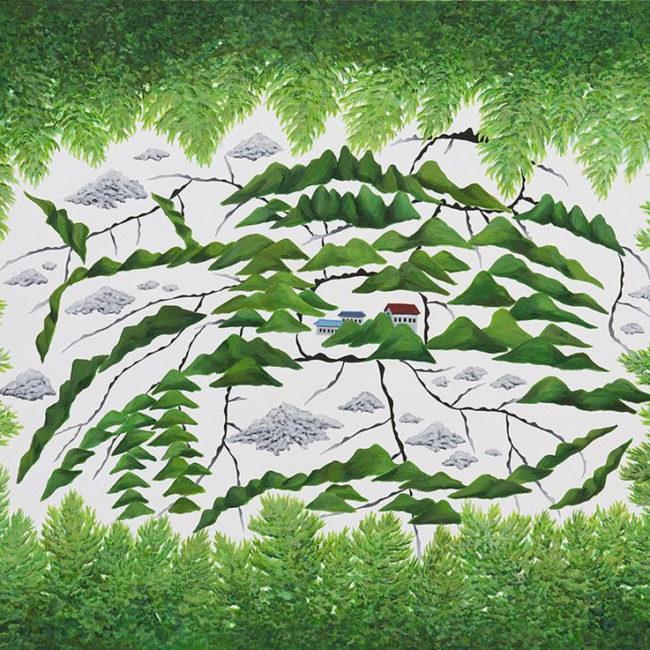 무제, Untitled 53x72.7 cm 캔버스에 아크릴릭 2010